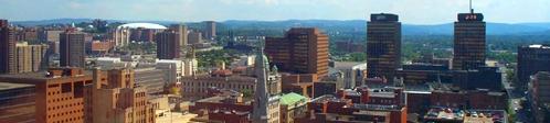Downtown Syracuse Skyline