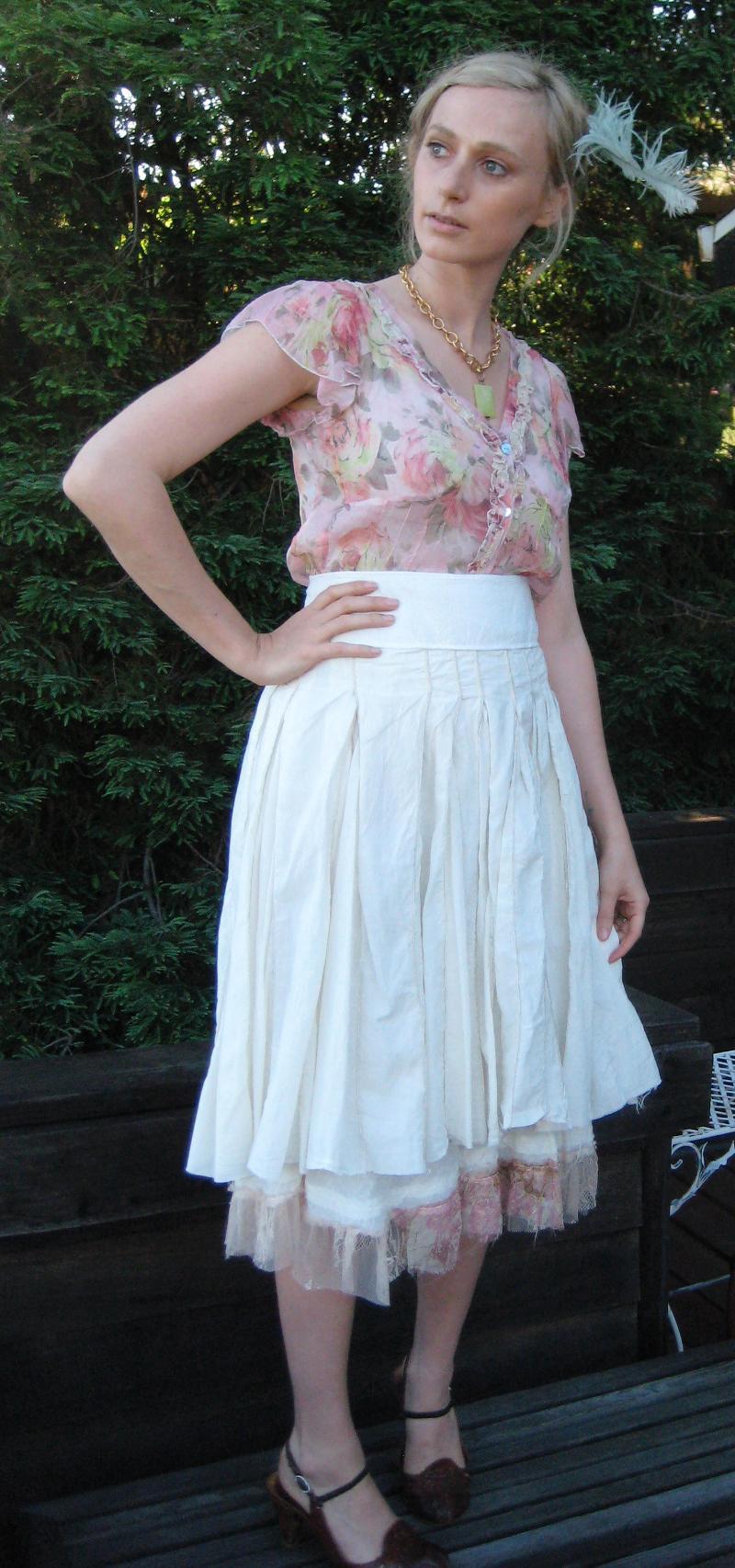 For Love & Liberty Blouse Biya skirt