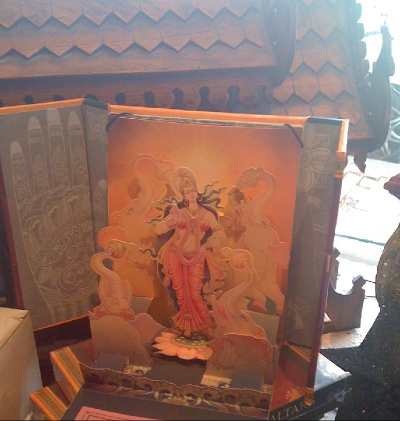 Goddesses altar