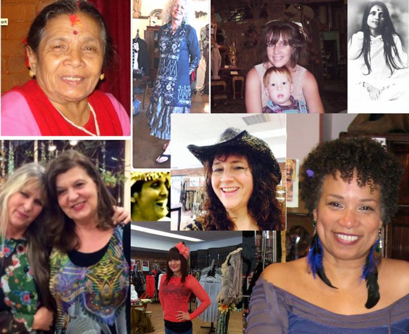 Amira, Chloe,MArgot Jade, Susan, NAdja, ma