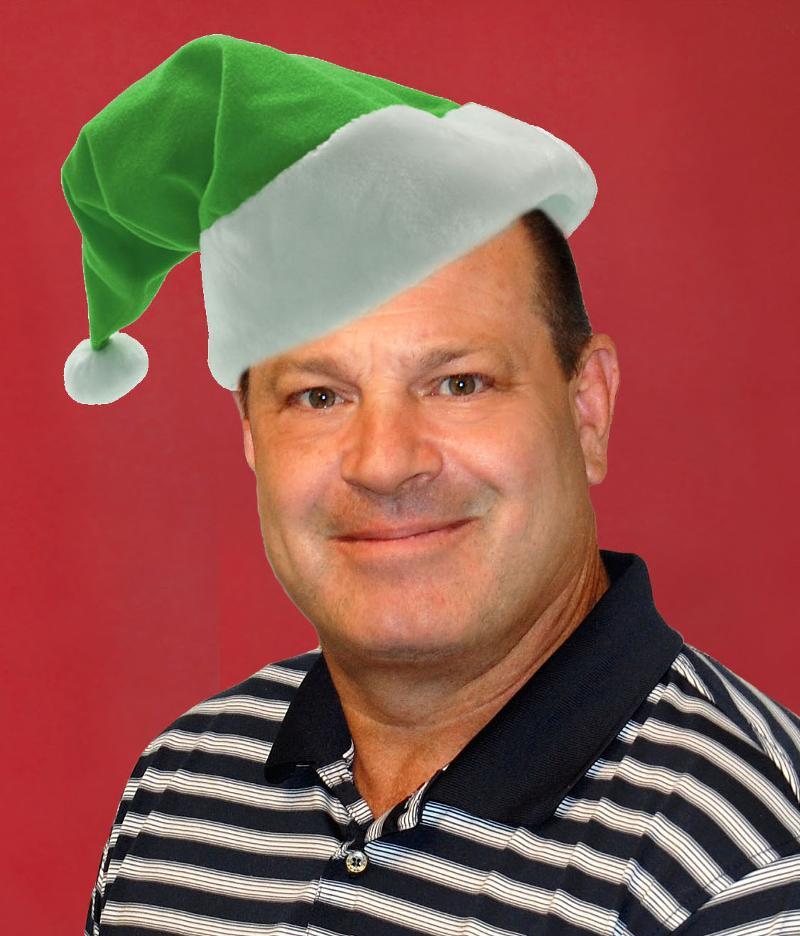 Bill Schmalzel Green Guy in Green Cap