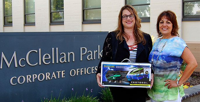 Winner of COAC Helicopter Giveaway