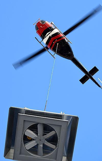 COAC Flys in New Fan for Rogers Coffee