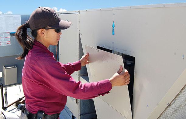 COAC Preparing to Upgrade HVAC Packaged Unit