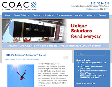 COAC's Blog Home Page