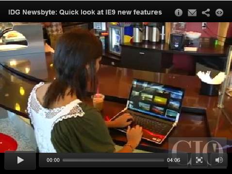 Video: What's new Internet Explorer 9