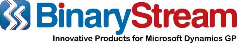 Binary Stream for Microsoft Dynamics GP