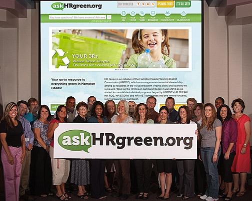 HR Green Group Photo - Website Launch