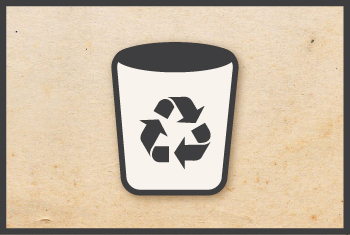 askHRgreen use recycling bins