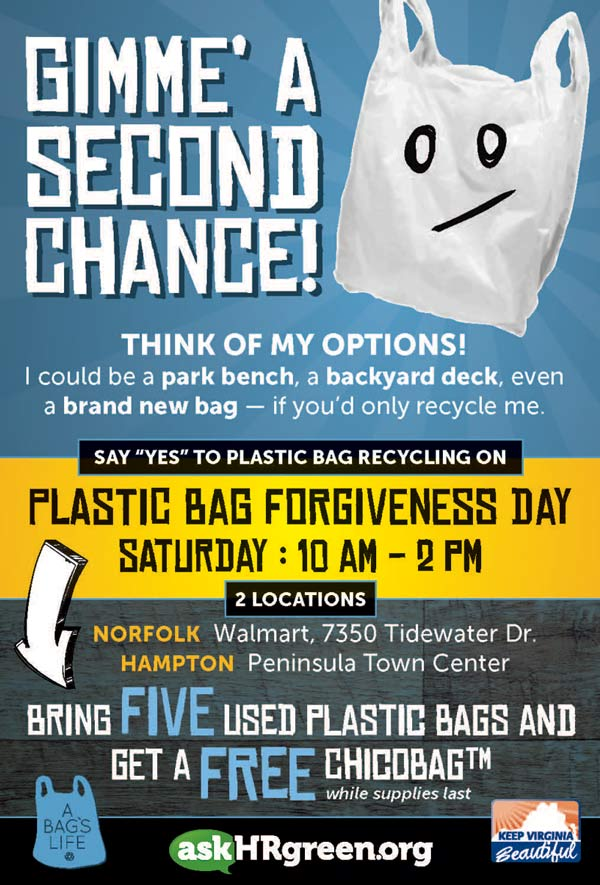 Plastic Bag Forgiveness Day