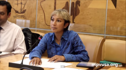 Ani Zonneveld speaks at the UN Human Rights Council