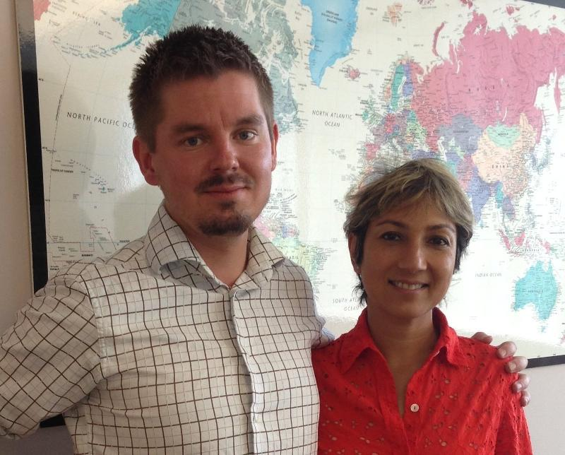 Anders Hulden and Ani Zonneveld