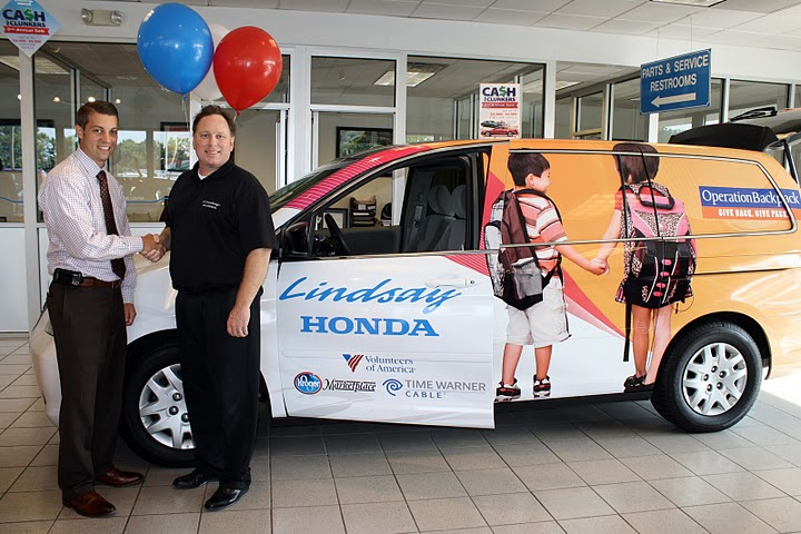 Lindsay acura serving columbus oh new used cars july 2010 for Lindsay honda service department