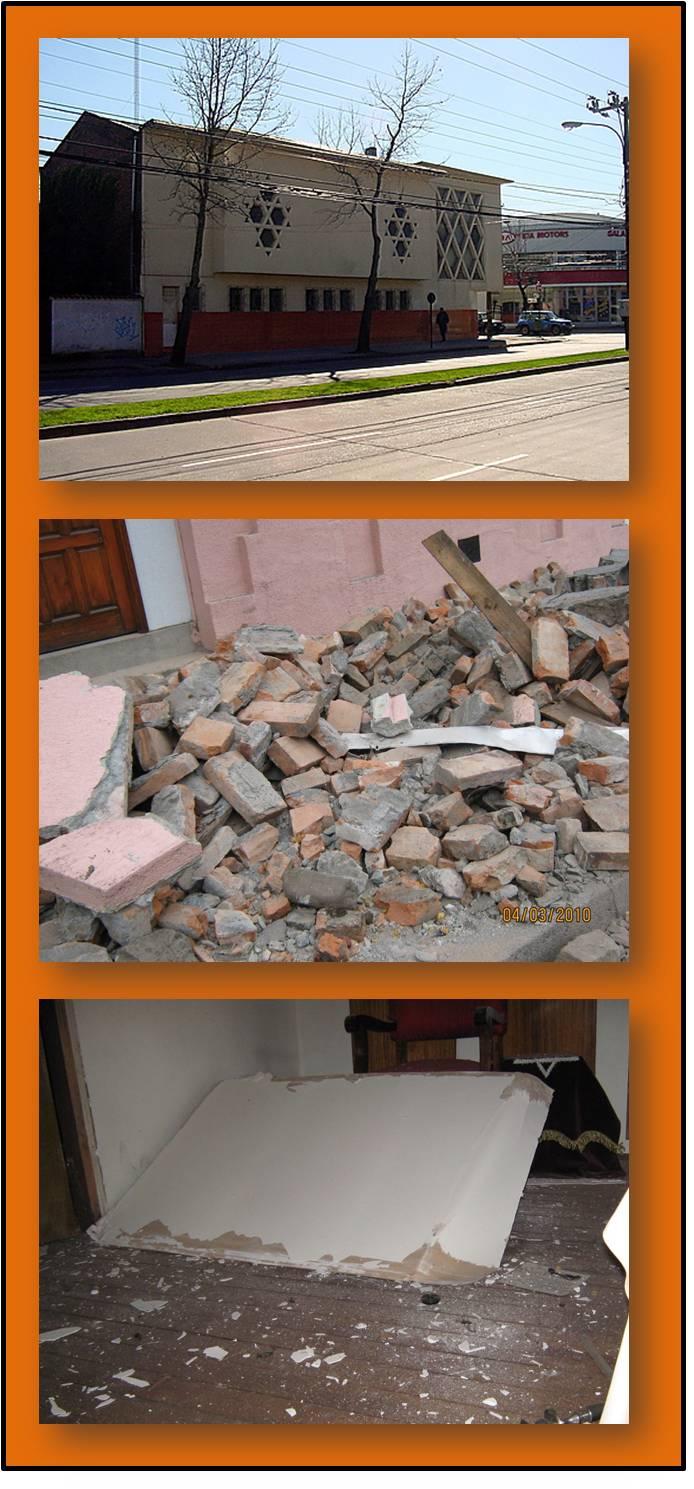 Chile damage