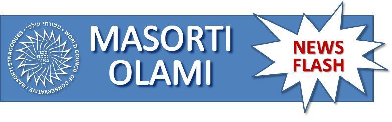 Masorti Olami News Flash