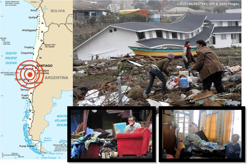 Chile earthquake relief fund