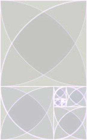 Fibonacci silver spirals