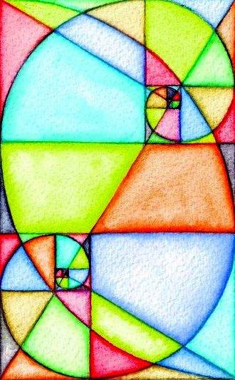Double Fibonacci spirals