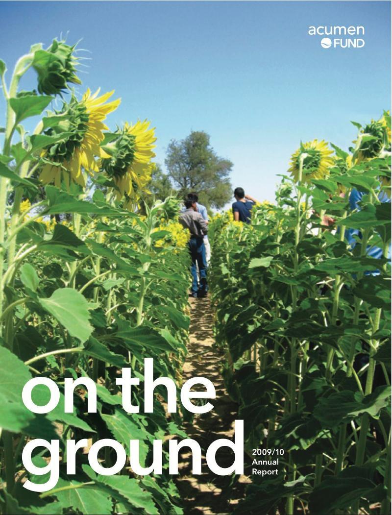 Acumen Fund Annual Report