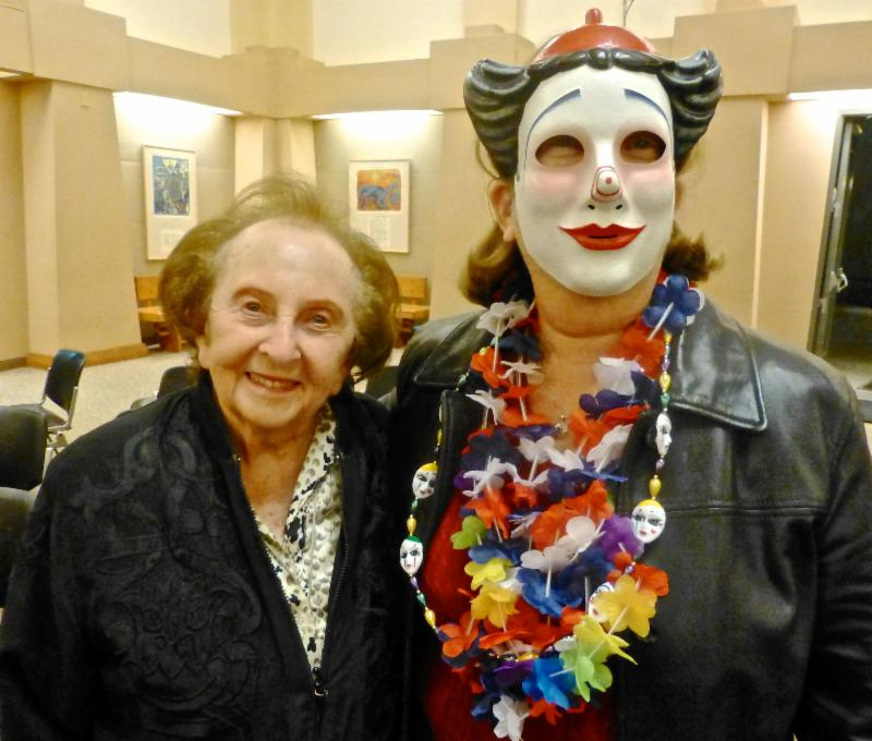 Lynn Beliak and mom Edith Ballonoff