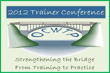 Trainer conference 2012