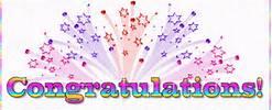pastel congrats