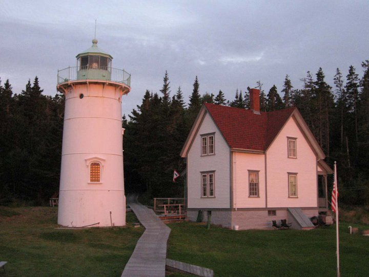 Little River Lighthouse (Cutler, ME) at Sunrise