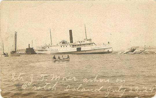 J. T. Morse post card