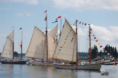 Boothbay Harbor Windjammer Days by Ralph Smith