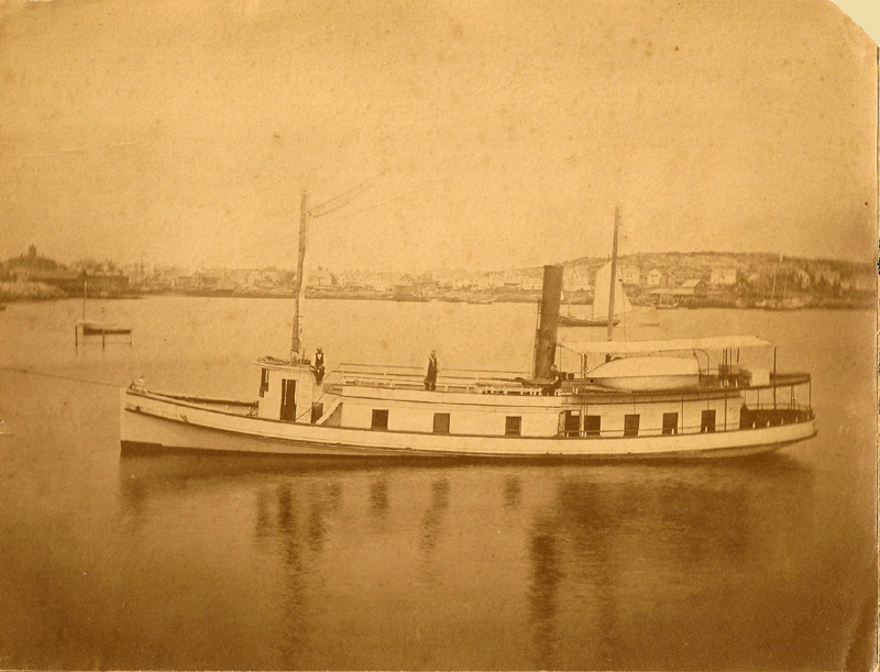 Steamer MAY FIELD