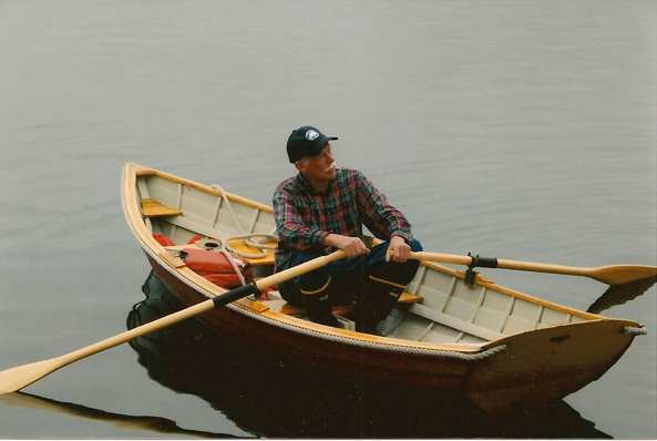 Capt John out for a row
