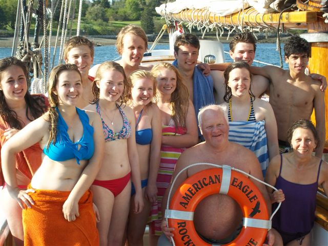 Swim Group Picture