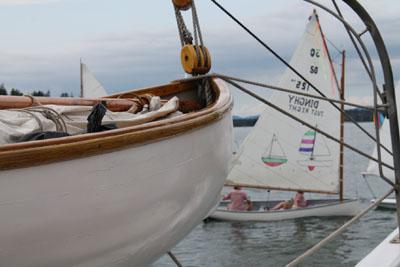 North Haven sailing dingy