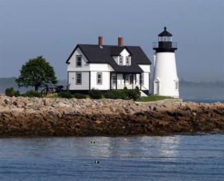 Prospect Harbor Light Today