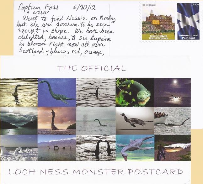 Nessie Post Card