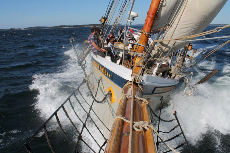 Bow View from the Bowsprit
