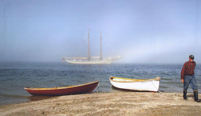 Ashore for a picnic