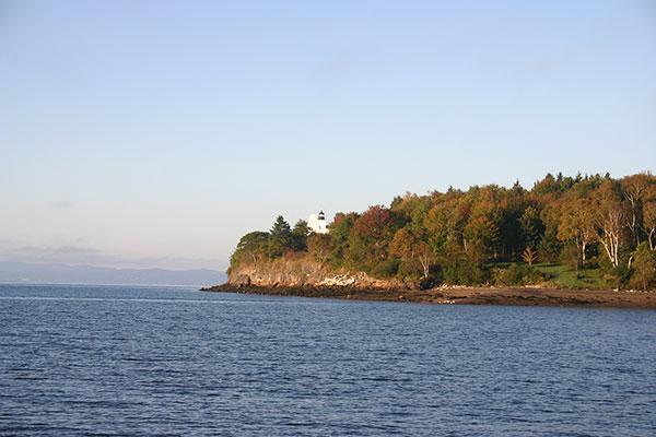 Fort Point Light (Maine) in September