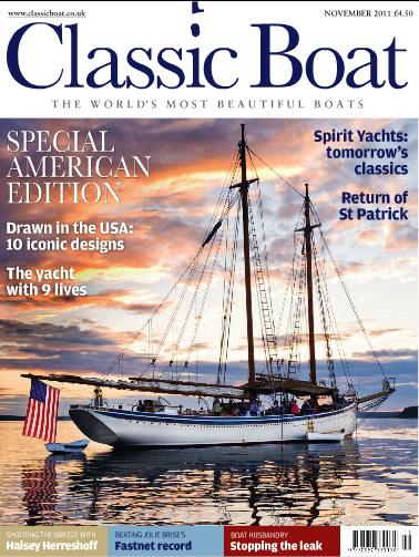 Nov 2011 Classic Boat Cover