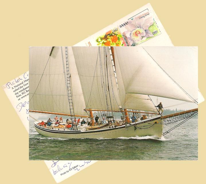 Postcard from Capt. Dan