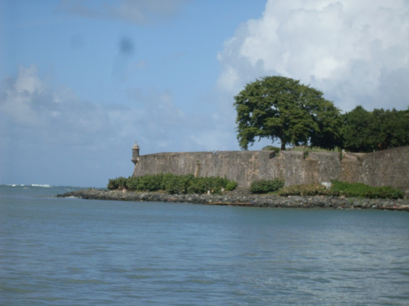 San Juan harbor mouth