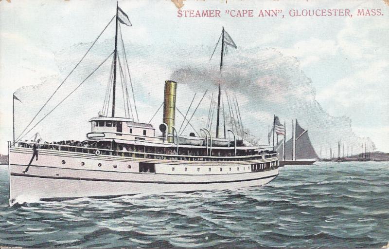 Postcard of the SS Cape Ann