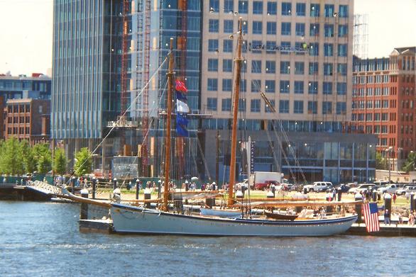 American Eagle at Fan Pier in South Boston