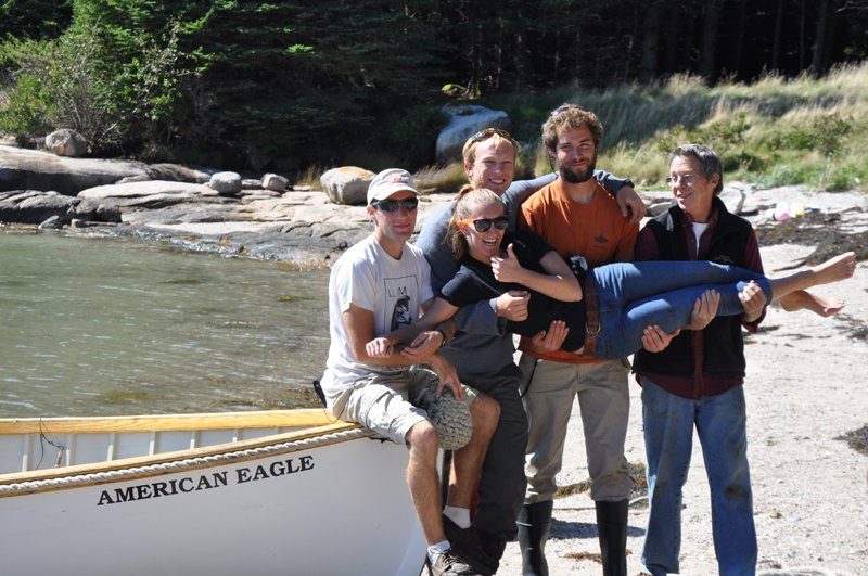 Crew at the picnic