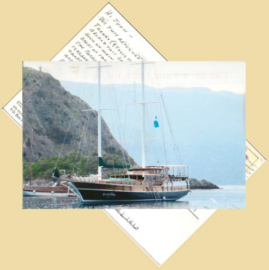 Card of Sailing the Mediterranean