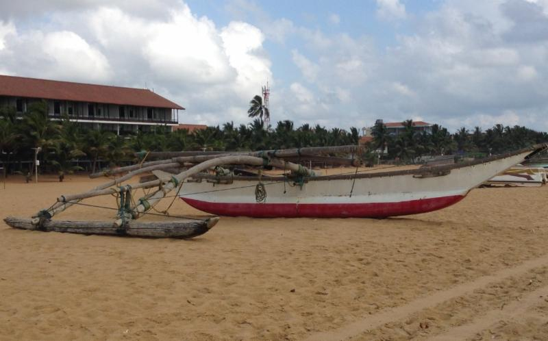 Outrigger in Sri Lanka