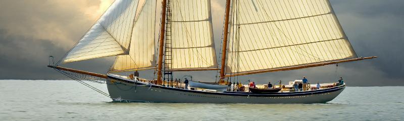 The schooner American Eagle