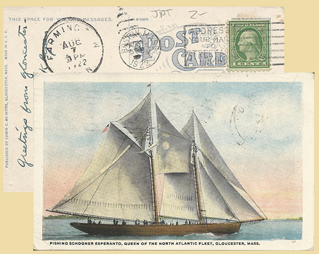Esperanto under full sail