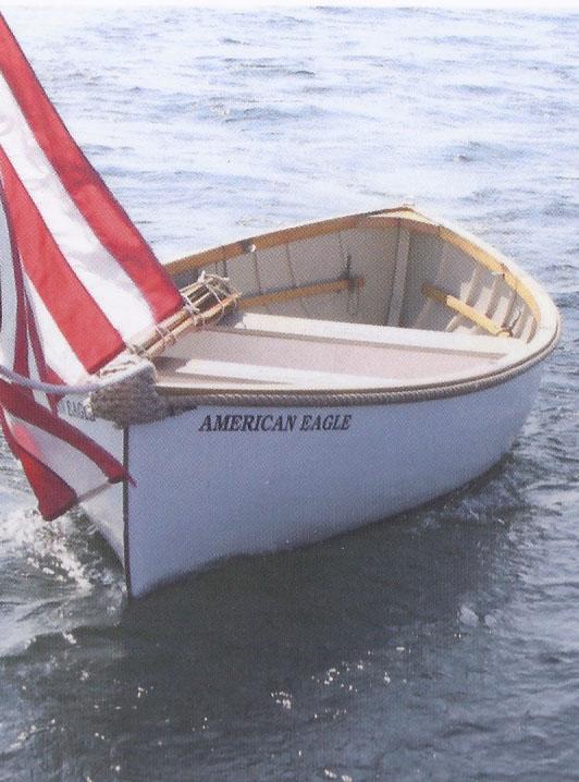 Seine boat following the schooner