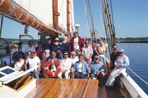 Lunenburg Ships Company by Tom Geisler